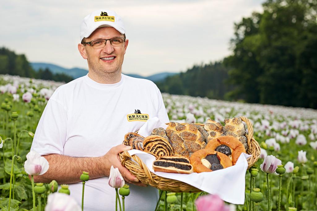 Naturbäcker Martin Bräuer startet in den Mohnherbst