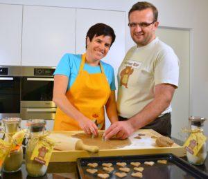 Brigitta und Martin Bräuer - Kekse mit Sinn im Glas